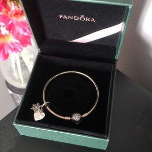 Pandora | Bracelet & Charm